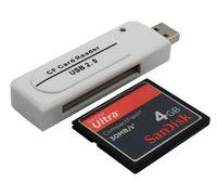 L46 USB CF Compact Flash Card Reader Artister Adapter Vista