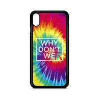 Why Dont We Tie Dye Phone Case For Iphone 5s 6s 6plus 6splus...