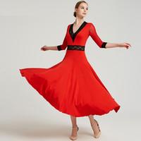 Standart balo salonu elbise standart dans elbiseler flamenko elbise dans giyim ispanyolca kostüm balo salonu vals dans kıyafetleri
