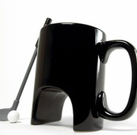 Tazza da golf ceramica, tazza di tè decorando tazza da caffè tazza da beviberi per ufficio casual handprip ceramica cartoon tazza con manico da golf tazza LJJK1798