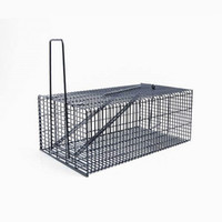 pestcontrol Super Pro Rat Trap Cage Animal Pest Roditore Mouse Mouse Control Live Bait Catch Silver