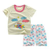 Moda Cotton Boys Girls Hermanas Hermanos Camisetas Niños Niños Impresión de dibujos animados T Shirts Trajes a juego Familia