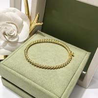 Fashion Four Leaf Clover Silver Zangle Stone Bangle per le donne Amanti Giorno Regalo Classico Designer Brand Gioielli per le donne