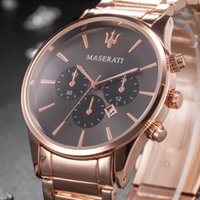 Fashion lady watches women watch rose gold silver Stainless ...