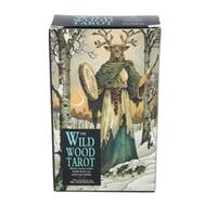 Wild Wood Таро Колесо года деке Prisma игральных карт партии благосклонности Настольная игра Игрушка для взрослых Family Entertainment
