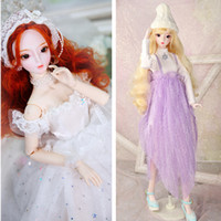 Outfits for 1 3 BJD wedding dress and the fashion dress Blyt...