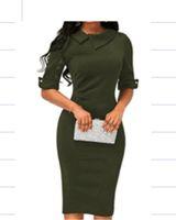 Элегантное модное платье для женщин с длинными рукавами и длинными рукавами