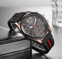 2018 maserati Casual Leather Watches VOLARE Women men Busine...