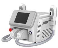 Popular Doble Mango OPT SHR Laser IPL Máquina Para Depilación Rejuvenecimiento de la Piel Pigmentación Tratamiento del Acné