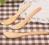 Натуральный деревянный сырный нож Новый прибрежный деревянный шпатель для хлеба зеленый и охрана окружающей среды