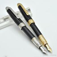Hohe Qualität 163 Metall Mini Brunnen Stift Schule Büro Schreibwaren Luxus 4810 Kalligraphie Tintenstifte für Geschenk