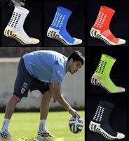 Nuevo antideslizante Calcetines de fútbol Hombre Algodón Calcetines de fútbol Hombre Calcetines calcetines de los hombres al por mayor Envío gratuito