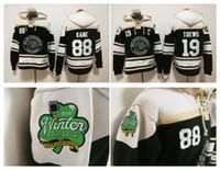 2019 Winter Classic Chicago Blackhawks 19 Jonathan Toews 88 Patrick Kane Old Time Hockey Jerseys Hoodie Sweater Winterjacke