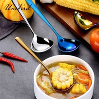 Unibird 1Pc 304 Stainless Steel Soup Spoon Kitchen Breakfast...