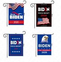 30 * 45CM Die US-Wahl Biden Trump Letters Druck Garten Flaggen Hand Stock-Flagge 2020 Amerikanische Flaggen Garden Home Dekoration Banner D61602