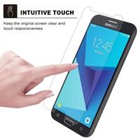 Vetro temperato per LG Aristo 5 Plus Stylo 6 K51 per Samsung Galaxy A21 A11 A01Explosion-Proof con Package D1
