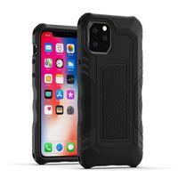 Pour le cas iPhone cas hybride armure anti-choc en silicone pare-chocs pour iPhone 11 pro max XR XS 7 8 Plus LG STYLO 5