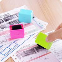Roller Security Seal sudicio Codice espresso Bill Privacy Protection Seal Cassetta di sicurezza Stamp Accessori da scrivania per ufficio di banco HA620