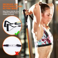New 11pcs set Pull Rope Fitness Resistance Bands Exercise Tu...