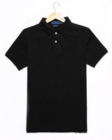 Hommes Polo Hommes Hommes à manches courtes Hommes Polo Chemise Hommes Polo Chemise Haute Qualité Solide Couleur Solide Poloshirt Taille S-2XL