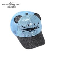 BINGYUANHAOXUAN Child Black and Blue Baseball Cap Children C...