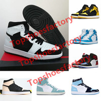 Nike Air Jordan 1 basketballshoes 1 shoes del Mens Shoes Black Shadow Top 3 Mens Designer Shoes Melo Blue Storm Baroni Uomini Sneakers Trainers 36-46