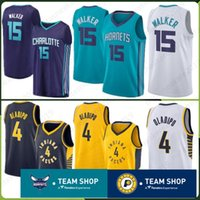 639024b5096 Indiana 2019 New Pacers Jersey 4 Victor 15 Kemba Oladipo Charlotte  Embroidery Logos Hornets 77 Luka Walker Doncic Stitched Jerseys