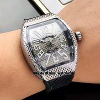 НОВЫЙ VANGUARD V45 SC DT BLACK PXL Япония Miyota Автоматические мужские часы с большим циферблатом, 43 мм. Циферблат для мужчин. Нейлоновый резиновый ремешок.