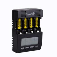 Freeshipping BT-C2000 Ni-MH cargador de batería Resistencia cargador inteligente AA AAA C D 12V