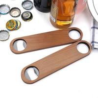 Big Wood Lidar com Bartender Garrafa Abridor de Vinho Cerveja de Vidro Tampão Garrafa Opener Cozinha Bar Bar Ferramentas de Fábrica Atacado LX1585
