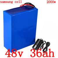 1000W 1500W 2000W 48V Li iyon batarya takımı kullanımı samsung 48 5A 48V 35AH Scooter cep telefonu V lityum Şarj ebike