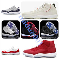 11s 11 Platinum Tint Concord 23 45 Mens scarpe da pallacanestro Cap Gown Blackout Stingray Gym Red Midnight Navy allevati Spazio Jams Sport Sneakers