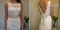 2019 Boho Wedding Dresses Spaghetti Straps Lace Bridal Gowns Vestido De Novia Beach Wedding Dress Cheap