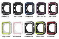 11 ألوان الرياضة NK سيليكون الحال بالنسبة لساعات أبل لينة واقية تغطي الحالات واقية لساعة أبل iWatch 1 2 3 4