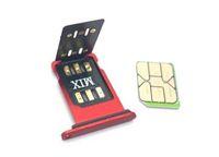 جديد أصلي Chinasnow إفتح SIM MIX V1.39 لIP6-XR 11 12Series مع ICCID IMSI الوضع إفتح سيم بطاقة GEVEY برو نقرا مزدوجا SIM ONESIM