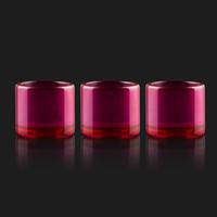 100% Ruby Inserire le ciotole di ricambio Banger spessore per 10mm 14mm 18mm al quarzo al quarzo Dominga Domeray Guarda in vetro Bong