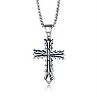 New Design Personality Necklace Pendant Cruxifix Cross Necklace Mens Women Jewelry Religious Christian Catholic Jewelry Gifts