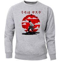 Sasuke Uchiha Sweatshirts Männer Harajuku japanischen Anime Crewneck Pullover Jumper kühlen dünnes Vlies Streetsport Warm
