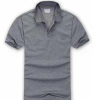 2019 Poloshirt Katı Polo Gömlek Erkekler Lüks Polo Gömlek kısa Kollu Erkek Temel Top Pamuk Polos Boys Marka Tasarımcı Polo Homme