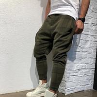 Sifan Brand Designer Hombres con estilo Pantalón Plaid Flojo Impreso Impreso Casual Harem Pantalones Joggers Sporting Pantalones Hombres Hip Hop Streetwear Pantalon Homme