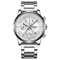 NIBOSI 2020 Watch Men Luxury Brand Men Army Military Watches Men's Quartz Clock Man Sports Wrist Watch Relogio Masculino Wristwatch