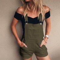 Jeans femininos lavados noivo solto para mulheres denim bib buraco calças vintage magro macacão plus tamanho demin shorts macacão E23