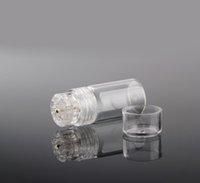 20 Micro Titanium Aiguilles Derma Stamp Derma rouleaux avec longueur de l'aiguille 0,25mm 0,5mm microneedling Stamp pour utilisation à domicile Clinique Utilisation