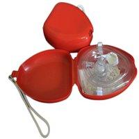 الإسعافات الأولية CPR التنفس قناع حمايه رجال الانقاذ الاصطناعي التنفس الإسعافات الأولية أقنعة التنفس CPR قناع في اتجاه واحد صمام أدوات
