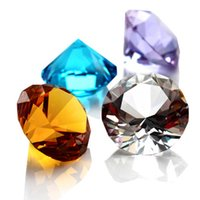 3cm 크리스탈 다이아몬드 가정 장식 장식품 Feng Shui 장식품 유리 장식 공 결혼식 미니어처 액세서리 선물