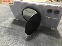 빈 유리 전화를 인쇄 유니버설 심장 거울 핸드폰 홀더 리얼 3M 접착제 UV는 360도 핑거 홀더 스탠드