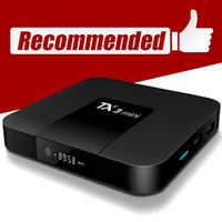 TX3 مصغرة الروبوت التلفزيون مربع S905W رباعية النواة 1 جيجابايت 8 جيجابايت الذكية TV-Box 4K WiFi H.265 Media Player PK MXQ Pro x96mini