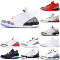 Black Cement mens chaussures de basketball bricoler sport JTH loup gris pur blanc jeu de charité True Blue 2019 baskets formateurs Katrina Sports