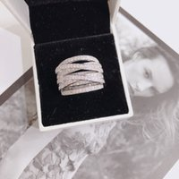 여성 스탬프에 대한 S925 스털링 은색 VVS1 2의 다이아몬드 반지 925 Anillos BIZUTERIA 보석 실버 925 보석 다이아몬드 반지