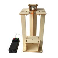 Модель лифта Подъемник Руководства Комплект Kit Kits Technology Маленькая продукция Наука Эксперимент Игрушки